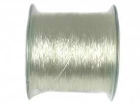 gumka żyłka silikonowa transparentna 0,6mm 12m