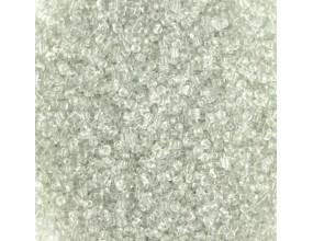 KORALIKI MROŻONE SZNUR 8mm SZKLANE 52szt mleczne