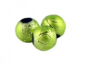 Koraliki szklane SPECTRA 8mm zielony jasny 10 sztuk