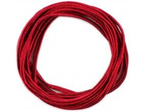 SZNUREK DO SUTASZU 3x1 mm czerwony 2 m.SUTASZ