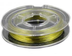 LINKA JUBILERSKA SZPULKA 10 Metrów żółta 0,45mm