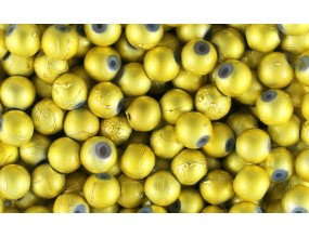 Koraliki szklane SPECTRA 8mm żółty 50szt HURT