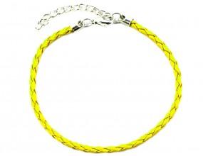 BAZA BRANSOLETKI MODUŁOWEJ 20 cm 1 szt żółta