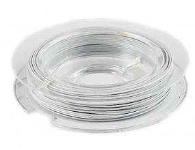 LINKA JUBILERSKA SZPULKA 10 Metrów biała  0,45mm