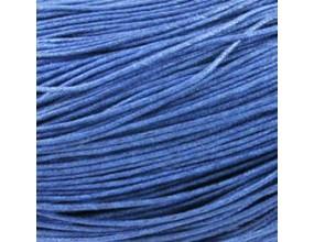 Sznurek Jubilerski Bawełniany Woskowany 1,5mm 4m niebieski