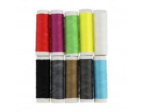 NICI krawieckie 10 kolorowych SZPULEK szpulki