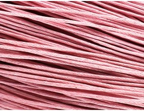 Sznurek Jubilerski Bawełniany Woskowany 1,5mm 4m różowy