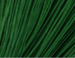 Sznurek Jubilerski Bawełniany Woskowany 1mm 7m zielony ciemny