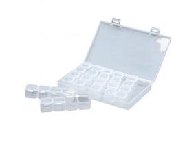 Organizer kuferek pudełko pojemnik 12x6x7,5cm