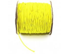 GUMKA OKRĄGŁA 1mm do bransoletek Żółta 2MB