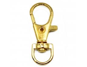 Karabińczyk baza breloka do kluczy 35x13mm 1szt