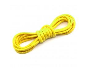 Sznurek Jubilerski Powlekany Snake 1,5mm 2m żółty