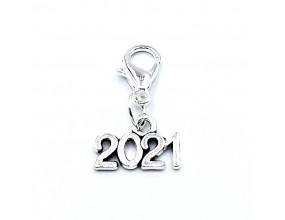 Zawieszka 2021 do bransoletek Charms