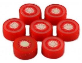 Koraliki ozdobne 8mm granatowe 10szt akrylowe