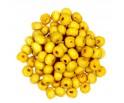 Koraliki Drewniane Kula Drewno Żółty 6mm 50szt