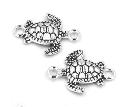 Łącznik do bransoletek biżuterii Żółw